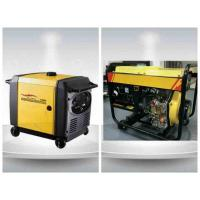 5kva Digital Gasoline Residential Diesel Generators Single Phase Portable ISO9001 Manufactures
