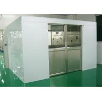 Industry Cleanroom Air Shower System Tunnel With Width 1800 Automatic Sliding Doors Manufactures