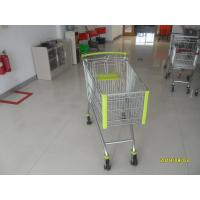 Buy cheap 150 L Metal Shopping Trolley With Special Plastic Parts And 5 Inch Casters from wholesalers