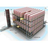 Quality Shuttle Racking System AGV Automated Guided Vehicle Integration High Accuracy for sale