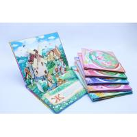 Case Bound Kids Pop Up Book Printing / Hardback Book Printing Services Manufactures
