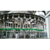 Industrial 3 In 1 Automatic Liquid Bottle Filling Machine For PET Bottles 1000bph - 24000bph Manufactures