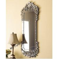 59 Inches Long Venetian Wall Mirror For Bedroom / Living Room Easy Clear Manufactures