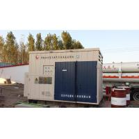 Quality Full Skided 1000Nm3 Compressed Natural Gas Stations with Gas / Oil Separate for sale