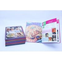 Flexible Binding CookBook Printing With Recycled Cardboard Paper Manufactures