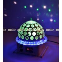6x3W 360 Degree LED Effect Light , Disco Dj Stage Lighting Led Rgb Crystal Magic Ball Manufactures