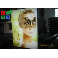 Single Sided Fabric LED Display Box Backlit Lighting For Retail Store Wall Display Manufactures
