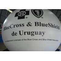 White Inflatable Marketing Products Advertising , PVC Inflatable Ball Off Site Layout Manufactures