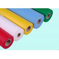 SGS Approved Polypropylene Non Woven Spunbond Fabric Multi Color for Making Bags Manufactures