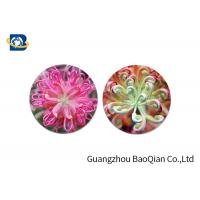 Home Decoration 3D Lenticular Coasters Cup Placemat Beautiful Flower Pattern Manufactures