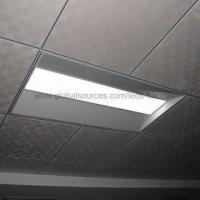 China Recessed LED Panel Light with V-diffuser and IR Remote Control Dimmer, 0/1-10V or DALI Dim Port on sale
