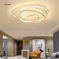 Quality Acrylic Aluminum Modern Led ceiling lights for living room bedroom AC85-265V White Ceiling Lamp Fixtures for sale