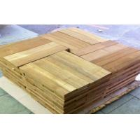 Sliced Cut  Wood Flooring Veneer Sheet , Teak Wood Veneering 0.5 mm Manufactures