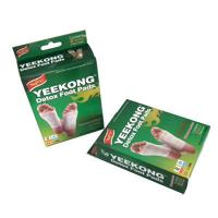 Quality best selling Yeekong ODM/OEM gold relax biomagick detox foot patch/ pads bamboo wood vinegar relieve pain improve sleep for sale
