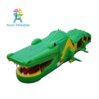 Quality 2017 New design Inflatable obstacle course for party rental/ kids Crocodile for sale