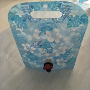 Custom blue printing vertical bag with leakproof packaging/ liquid packaging water bag Manufactures