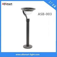 100lm 1.2W 2LED Aluminum stainless steel solar powered pathway lawn lights for landscaping Manufactures