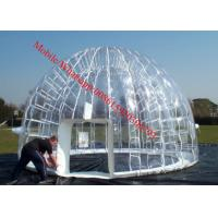 Inflatable Transparent Dome Tent Inflatable Clear Tent Manufactures
