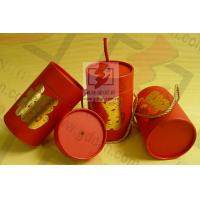 China Wedding Gift Large Diameter Cardboard Tube Packaging With Ribbon on sale