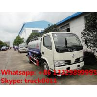 cheapest price high quality dongfeng RHD 95hp water sprinkling truck for sale, factory sale best price water carrier Manufactures