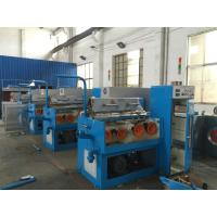 Cast Iron Structure Aluminium Wire Drawing Machine , Safe Fine Wire Drawing Machine Manufactures