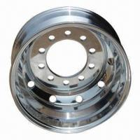 Quality Aluminum truck wheel 24.5 with good quality and competitive price for sale
