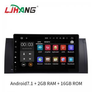 BT Audio Dvd Player Auto Bmw , Rear Camera Bmw E53 Dvd Player 2GB DDR3 RAM Manufactures
