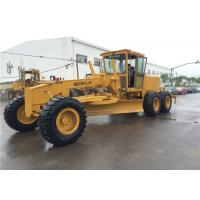 New Painting Cat 140g Motor Grader Caterpillar Engine 134.2 Kw Power Manufactures
