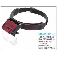 Medical Sugical Head Magnifying Glass With Light , Magnifying Glass Headset Manufactures