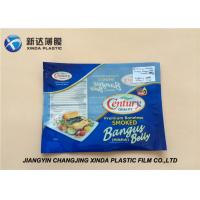 Oxygen Resistant 3 Side Heat Seal Plastic Bags for Sea Food Packaging CE / ROHS Manufactures