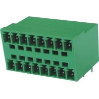 Male Pluggable Terminal Blocks Connector 3.5mm 16 pin 90°DIP  PA66 Manufactures