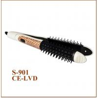 China Home Use Hair Curler Comb PTC Hair Straightener New Design Two in One on sale