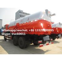 Quality best seller heavy duty 6*4 14-18m3 vacuum tank truck for sale,factory sale for sale