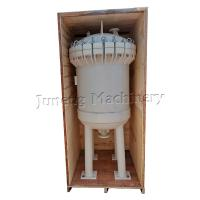 White Plastic Housing Multi Industrial Bag Filters With Nylon Filter Bag Manufactures