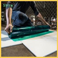 Builder Board Temporary Floor Protection Film Furniture Floor Protectors For Indoor Manufactures