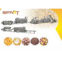 EN AS Standard Corn Flakes Production Line SS Made 35m / 42m Length Optional Manufactures