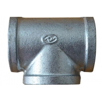 Welding Connect Equal Tee Malleable Iron Pipe Fittings Manufactures
