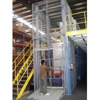 Effective Cargo Transfer 9m Hydraulic Guide Rail Elevator with 1000Kg Loading Capacity Manufactures