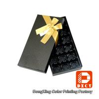 Quality Chocolate Biodegradable Cardboard Food Packaging Boxes Handmade Heart Shaped CMYK Printing for sale