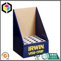 Shopping Mall Glossy Color Custom Corrugated Cardboard Carton Display Box Stand Manufactures