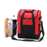 Large Thicken Folding Insulated Cooler Bags  With Fresh Keeping Waterproof Nylon Manufactures