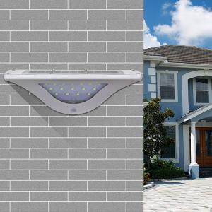 2017 NEW design ABS material best seller New SL-820 motion sensor dim light solar wall white lamp Manufactures