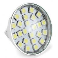 166 - 210lm 2700-3200K 3528 SMD LED Spot Lamp Warm White GU10 3W Energy saving Manufactures