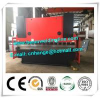 WC67Y 160T / 3200 Hydraulic Sheet Metal Brake For Plate / Press Brake For Hydraulic Press Manufactures