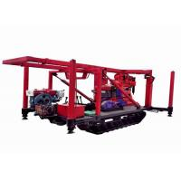 China Strong Capacity Crawler  Intensity Geological Drilling Rig With Low Labor on sale