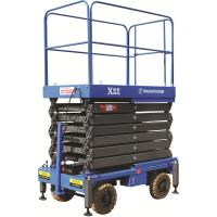 Quality Big Platform Size 14m Working Height Manually Push 450Kg Loading Capacity Both Ground Control and Platform Control Panel for sale