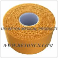 Zig - zag Yellow Color Breathable Athletic Sports Tape For Trainer Protection Manufactures