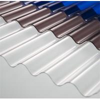 High Light Transmission Clear Corrugated Polycarbonate Sheets For Greenhouse Manufactures