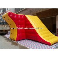 Customized Inflatable Water Games For Water Parks , Inflatable Blob Tower Manufactures