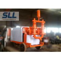 Fully Hydraulic Cement Mortar Pump Mobil Concrete Pump Fast Speed 110L min Manufactures